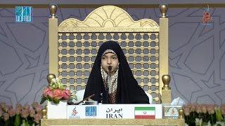 03- الثالثة في مسابقة أحسن الأصوات: حنانه مصطفي خلفي - ايران | HANANEH MOSTAFA KHALAFI - IRAN