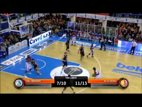 James Mays - Enel Basket Brindisi-Acea Roma: 84-54
