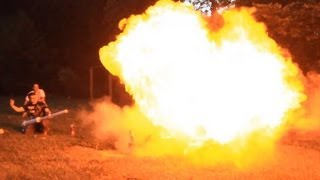 Flamethrower mod for the potato gun