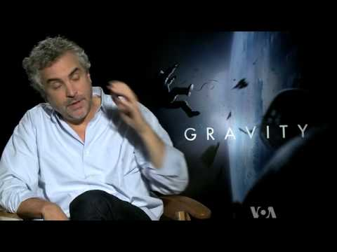 Gravity Movie Gravity Wins 7 Oscar - Film Director Alfonso Cuaron Video Interview