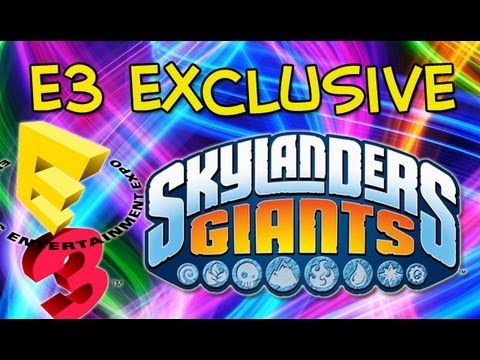 E3 2013 Exclusive Skylanders Giants Character  (Electronic Entertainment Expo) - E3M13