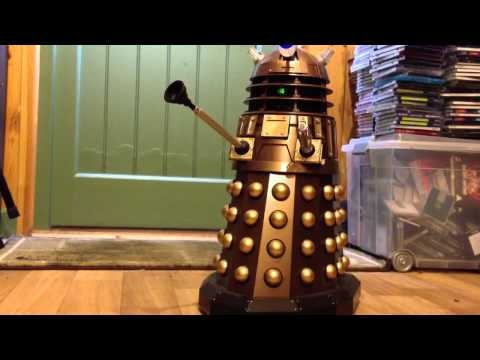 Having fun with voice control Dalek