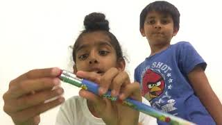 La matita gigante!!oggetti pazzi in real life