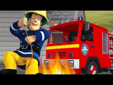 Tűzoltó Sam küzd tűzzel | Sam a tűzoltó ⭐️ Tűzoltó videók | Rajzfilmek gyerekeknek