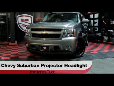 Spyder Auto Installation: 2007-13 Chevrolet Suburban/Tahoe/Avalanche Projector Headlights