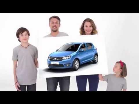 Dacia Sandero. Официальное промо видео