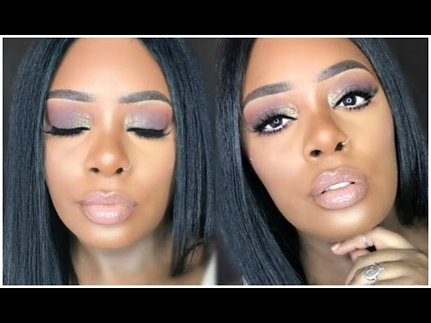 Sultry Brown Smokey Eye With Pop Of Gold - Makeup Tutorial