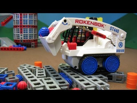 Rokenbok Remote Control Skip Track and Storage Silo