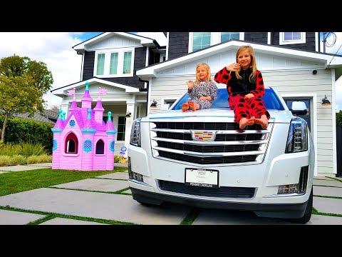 Девочки остались на хозяйстве Папа Николь и Алисы уехал Киноляпы Бэкстейдж Наша КОМАНДА !!!