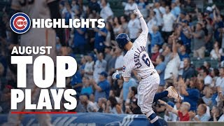 Cubs Top Plays in August