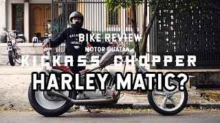 BIKE REVIEW - Harley Sporster Buatan Kickass Choppers + POV Test Ride Indonesia