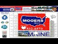 Land For Sale In Maine | Nearly 22 Acres, 2 Linneus Cabins MOOERS REALTY #8671