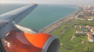 EasyJet Airbus A319-111 | London Luton to Malaga *Full Flight*