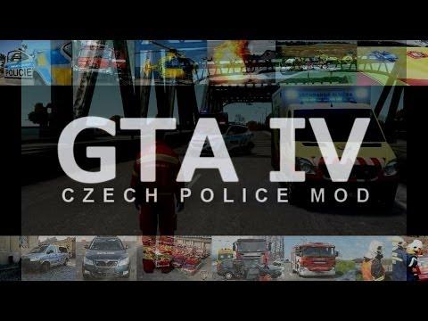 GTA IV - czech police mod #1