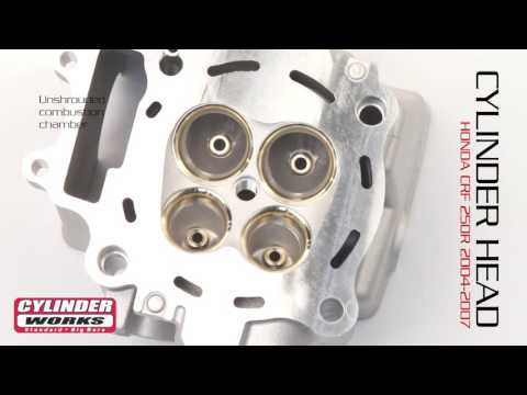 Cylinder Works CRF 250R Cylinder Heads Now Available.
