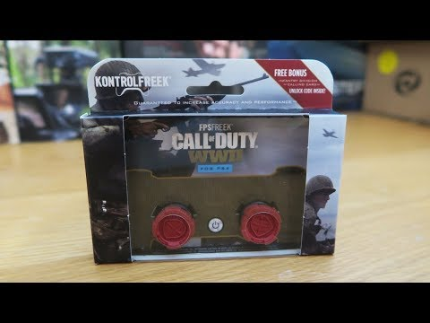 KontrolFreek FPS Freek Call of Duty WWII WW2 Thumbsticks for PS4/Xbox One Unboxing & Review!