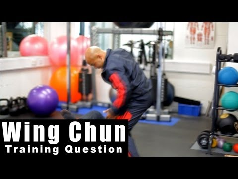 Wing Chun Techniques - How to deal with a fast jab. Q6 Image 1