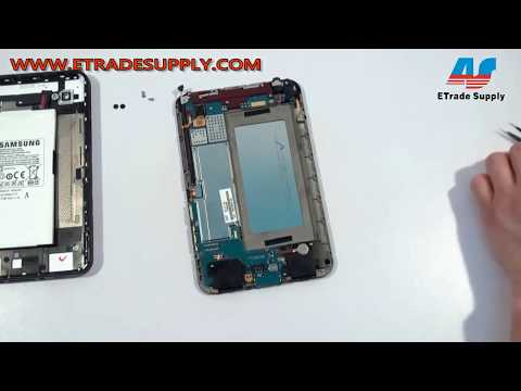 How to repair Samsung Galaxy Tab GT-P1000 Take apart/Tear down video