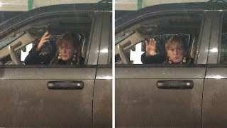 Woman Dances Rap Music From Guy's Car