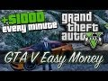 GTA 5 - How To Make $1000 In Less Than A Minute! (GTA V Money Making Tutorial)