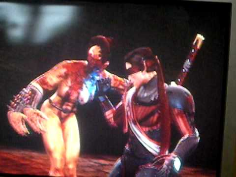 Mortal Kombat 9 Kenshi Gameplay