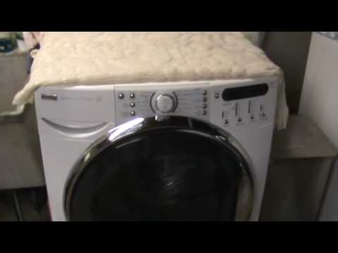 Kenmore Elite Washer With F35 Error Youtube