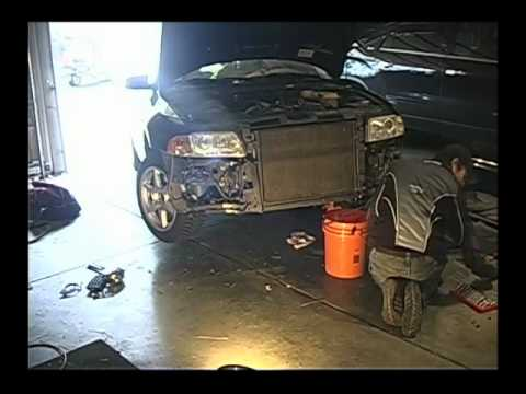 Audi A4 Front Disassembly