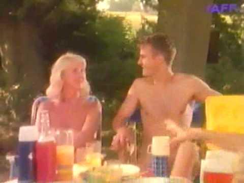 Nudist Low Fat Bacon Advertisement 1992