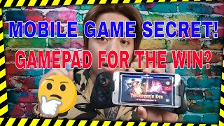 This gamepad for the win | Full review Mobile legends gamepad..!