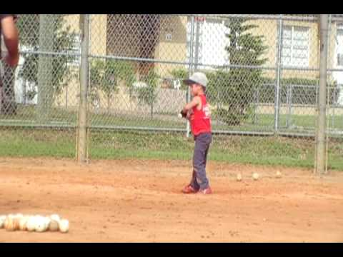 Amazing  5 year old baseball player
