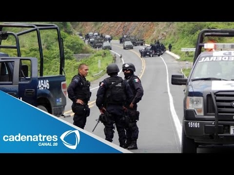 Gobierno Federal asume la seguridad de Michoacán ante grupos de autodefensa