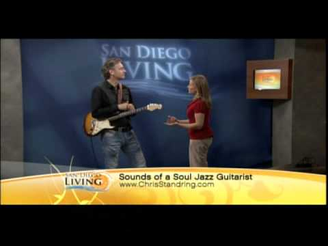 Chris Standring on San Diego Living TV show channel 6