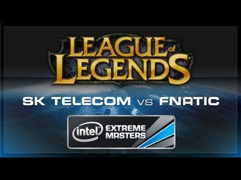 SK Telecom T1 vs Fnatic - IEM Cologne - League of Legends