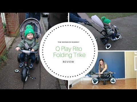 Q Play Rito folding trike review | Toddler trike review | The Norwich Mummy
