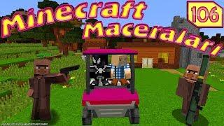 MİNECRAFT'TA TEHLİKELİ YOLCULUK Minecraft Maceraları 106