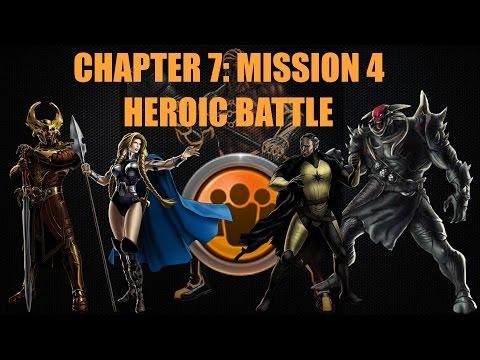Marvel Avengers Alliance Season 2: Chapter 7, Mission 4 Heroic Battle