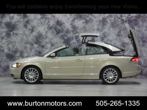 2007 Volvo C70 T5 Convertible - See the Retractable Hard Top In Action! - YouTube