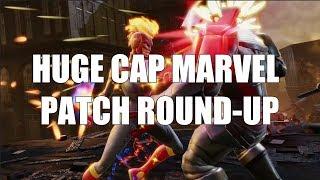 Huge Captain Marvel Patch Breakdown - Marvel Strike Force
