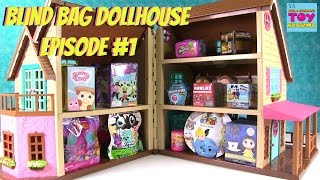 Blind Bag Dollhouse Hatchimals Trolls CollEGGtibles Shopkins Barbie Toy Review | PSToyReviews