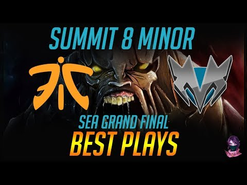 Summit 8 Minor SEA Fnatic vs Mineski Grand Final BEST PLAYS Highlights Dota 2 by Time 2 Dota #dota2