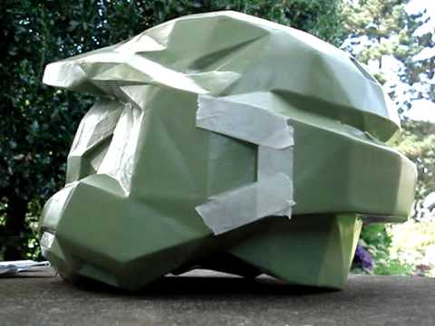 Master Chief helmet - how to make your own step by step