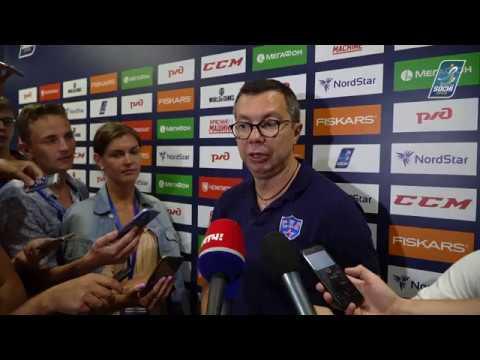 Илья Воробьев - о турнире Sochi Hockey Open 2018