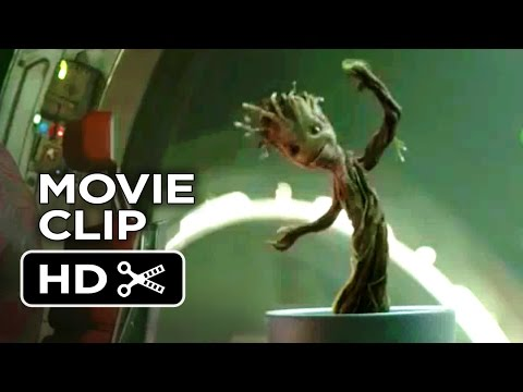 Guardians of the Galaxy Movie CLIP - Dancing Baby Groot (2014) - Vin Diesel Marvel Movie HD