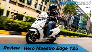 Hero Maestro Edge 125 Review - Most VFM 125cc Scooter!  | MotorBeam