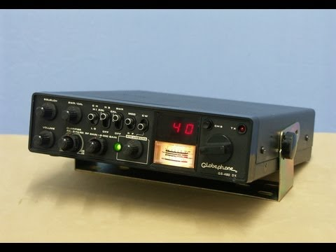 Globephone GS 480 DX HAM CB Radio (the black faced clone of ROYCE 639)