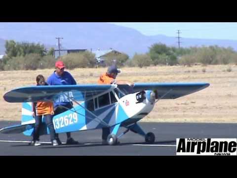Tucson Aerobatic Shootout 2009 - Bill Hempel's 60% Cub Demo - Presented By Model Airplane News
