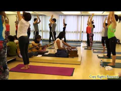 Yoga Practice Gayatri Suryanamaskar Mantra