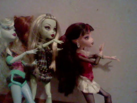 Monster high dolls short films