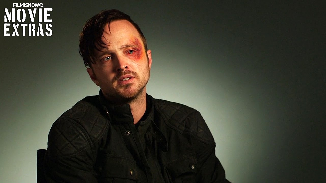 Triple 9 (2016) Behind The Scenes Movie Interview - Aaron Paul