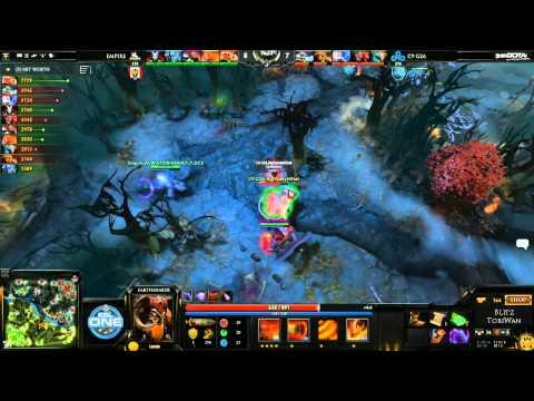 Team Empire vs Cloud9 Game 1 - ESL One Frankfurt Europe Qualifier - @TobiWanDOTA @Blitz_Dota
